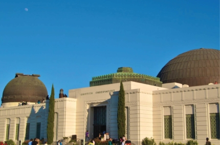 see sights of Griffith Observatory