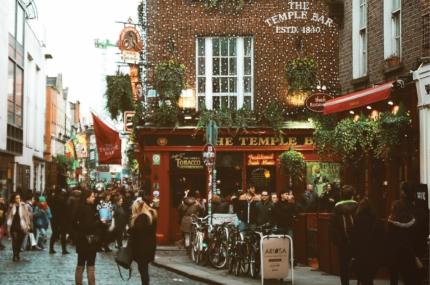 see sights of Irish Literary Night