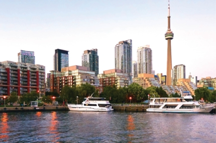 see sights of Toronto harbour cruise