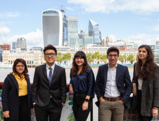 International business internships in London
