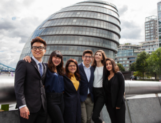 International real estate internships in London