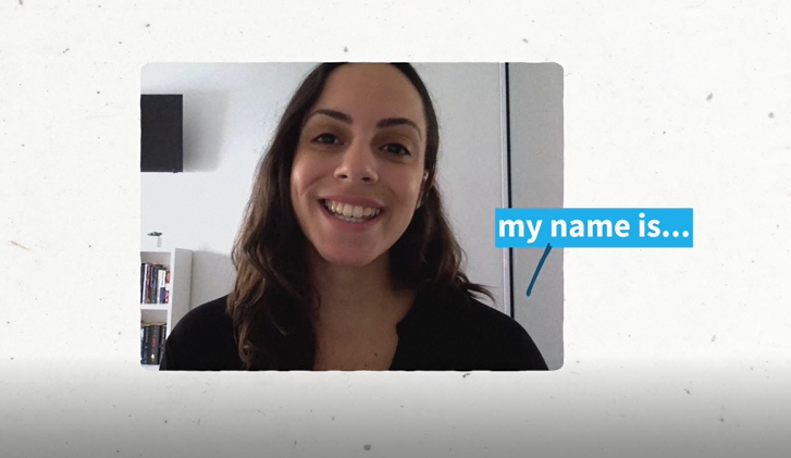 Desiree, a virtual intern