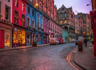 see sights of Edinburgh